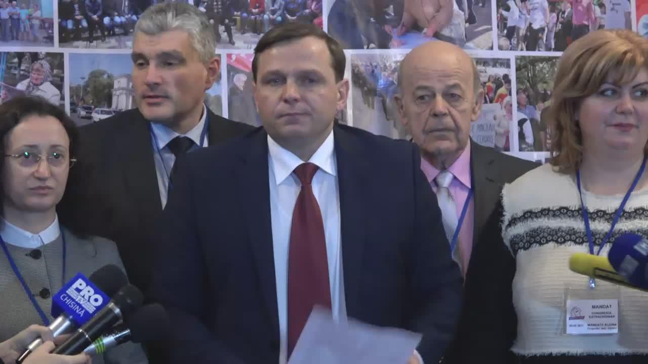 Briefing susținut de conducerea Partidului Platforma Demnitate și Adevăr după cel de-al II-lea congres extraordinar al partidului