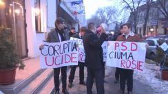 Marșul din Chișinău în susținerea protestatarilor din România