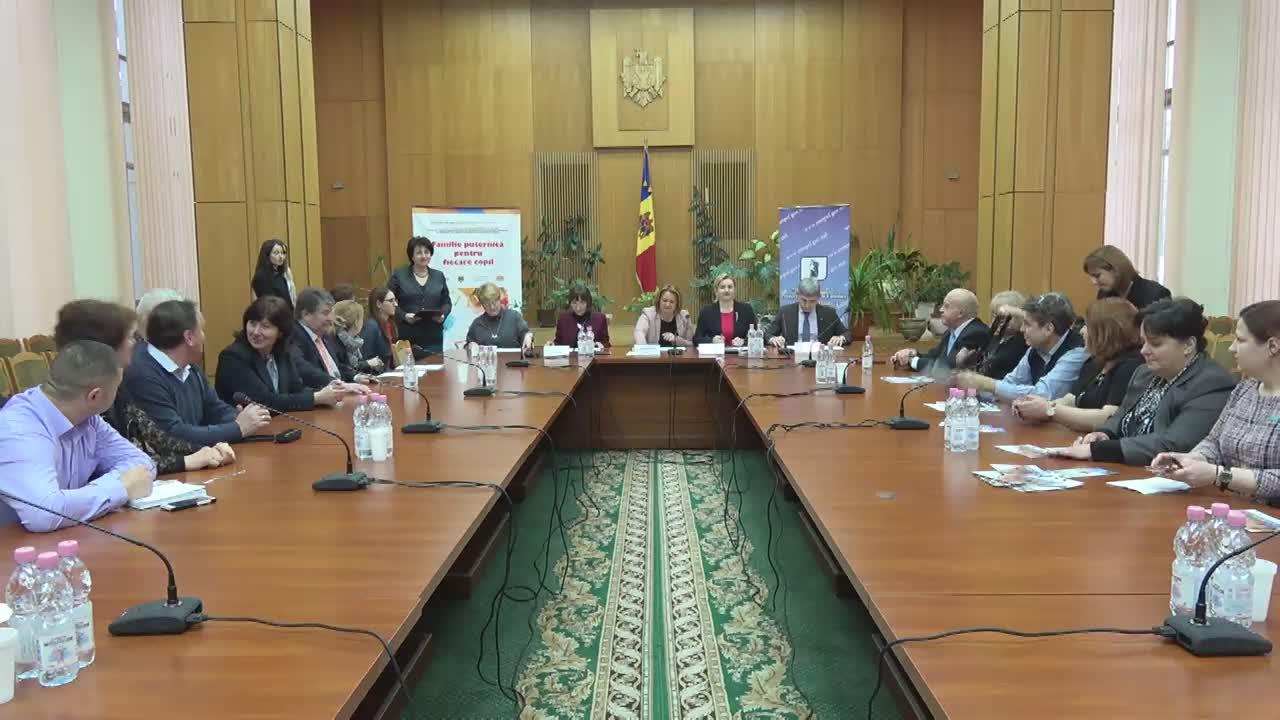 Semnarea Acordului de colaborare pentru bunăstarea copilului, între Ministerul Municii, Protecției Sociale și Familiei, Ministerul Sănătății, Ministerul Educației și Ministerul Afacerilor Interne