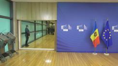 Sosirea președintelui Republicii Moldova, Igor Dodon, la întrevederea cu înaltul Reprezentant al Uniunii Europene pentru Afaceri Externe și Politică de Securitate și vicepreședinte al Comisiei Europene, Federica Mogherini