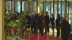 Sosirea președintelui Republicii Moldova, Igor Dodon, la întrevederea cu președintele Parlamentului European, Antonio Tajani