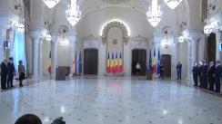 Ceremonia de depunere a jurământului de învestitură în funcție a membrilor Consiliului Concurenței