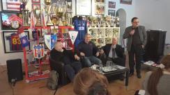 """Conferință de presă organizată de Artmark cu tema """"Istoria unui simbol: FC Oțelul Galați"""""""