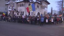 Protest împotriva Președintelui Klaus Iohannis