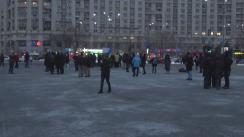 Protest împotriva Guvernului Grindeanu