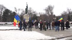 """Protestul """"Iubim România"""" din Chișinău"""