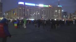 """Protest """"Toți românii vin la București!"""""""