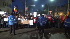 Protest împotriva Președintelui României, Klaus Iohannis