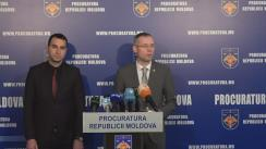 Conferință de presă organizată de Procuratura Generală privind deconspirarea și anihilarea unei scheme criminale de spălare de bani și evaziune fiscală în proporții deosebit de mari
