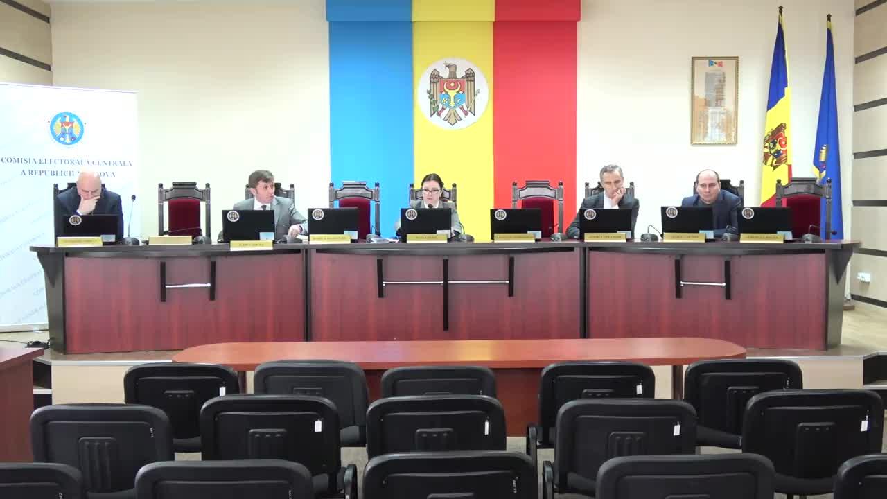 Ședința Comisiei Electorale Centrale din 14 februarie 2017