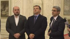 Declarații de presă susținută  de Președintele Executiv al PMP, Eugen Tomac