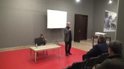 """Conferința """"Trecutul recent între imagine și realitate. Pledoarie pentru Muzeul Crimelor Comunismului"""" susținută de Președintele executiv al Institutului de Investigare a Crimelor Comunismului și Memoria Exilului Românesc (IICCMER), Radu Preda"""