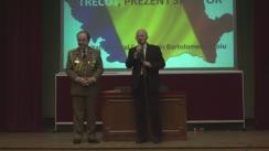 """Evenimentul """"România: Trecut, Prezent și Viitor."""" Invitat: General Constantin Bartolomeu Săvoiu"""