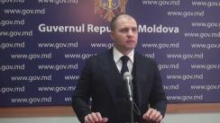Declarațiile lui Vladimir Cebotari după ședința Guvernului Republicii Moldova din 15 februarie 2017