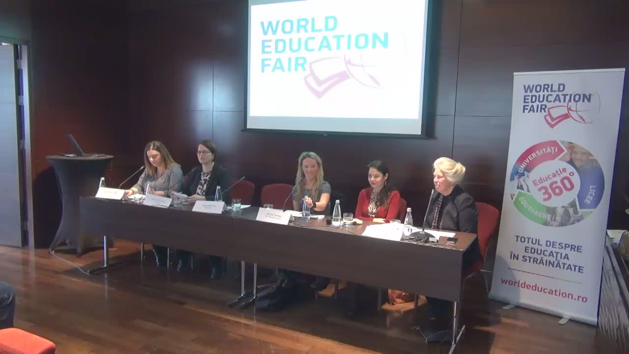 Conferință de presă referitoare la cel mai important târg educațional al anului – World Education Fair