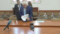 Conferința de presă susținută de ministrul Agriculturii și Dezvoltării Rurale, Petre Daea