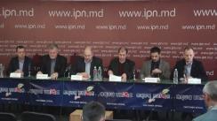 """Conferință de presă organizată de un grup de experți în energetică cu tema """"Grave încălcări la concursul privind selectarea directorului ANRE"""""""