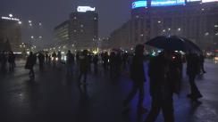 """Protest """"București - Avem o proclamație. Altă Întrebare?"""""""