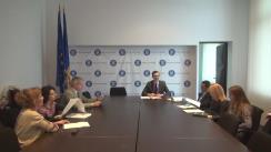 Ședința publică de dezbatere a proiectului de Ordin privind aprobarea Normelor pentru autorizarea unităților care pot desfășura studii clinice în domeniul medicamentelor de uz uman