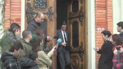 Declarații de presă susținute de Premierul Sorin Grindeanu, după vizita efectuată la Ministerul Educației Naționale