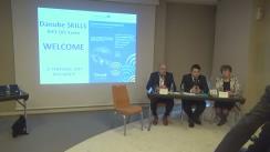 Conferință de presă pentru lansarea proiectului European Danube SKILLS