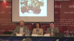"""Conferința de presă cu tema """"Lansarea Raportului Anual Amnesty International privind situația Drepturilor Omului in lume, în regiune, în Republica Moldova"""""""
