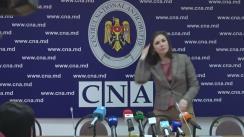 Briefing susținut de directorul-adjunct al CNA, Cristina Țărnă, pe subiecte de actualitate