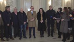 Ministrul Culturii Monica Babuc și ambasadorul extraordinar și plenipotențiar al României în Republica Moldova, Daniel Ioniță, întreprind o vizită de lucru la Sala cu Orgă pentru a vedea cum derulează lucrările de restaurare a edificiului