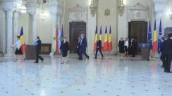 Ceremonia de depunere a jurământului de învestitură a noilor miniștri din Guvernul Grindeanu