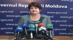 Declarațiile Valentinei Buliga după Ședința Guvernului din 11 noiembrie 2011