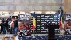 Conferință de presă susținută de Lucian Bute