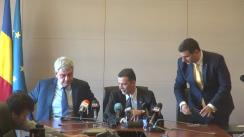 Preluarea mandatului de către noul ministru al Economiei, Mihai Tudose