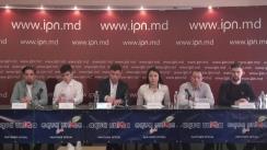 Conferință de presă organizată de Mișcarea de tineret Urmașii lui Ștefan dedicată dedicata lansării proiectului iExpert - curs de dezvoltare a abilităților și capacităților de lider în rândul tinerilor