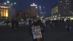 """Protestul """"București - Rezistăm. Schimbăm"""". Operațiunea Steagul UE și Revoluția Luminii"""
