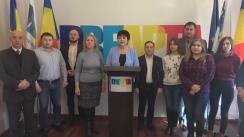 """Conferință de presă organizată de Partidul Unionist DREAPTA cu tema """"Poziția Partidului Unionist DREAPTA referitor la soluționarea diferendului Transnistrean"""""""