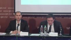 """Conferință de presă susținută de Sergiu Tofilat și Ianuș Cușnir cu tema """"Delapidarea fondurilor europene de către Primăria municipală prin proiecte de eficiență energetică"""""""
