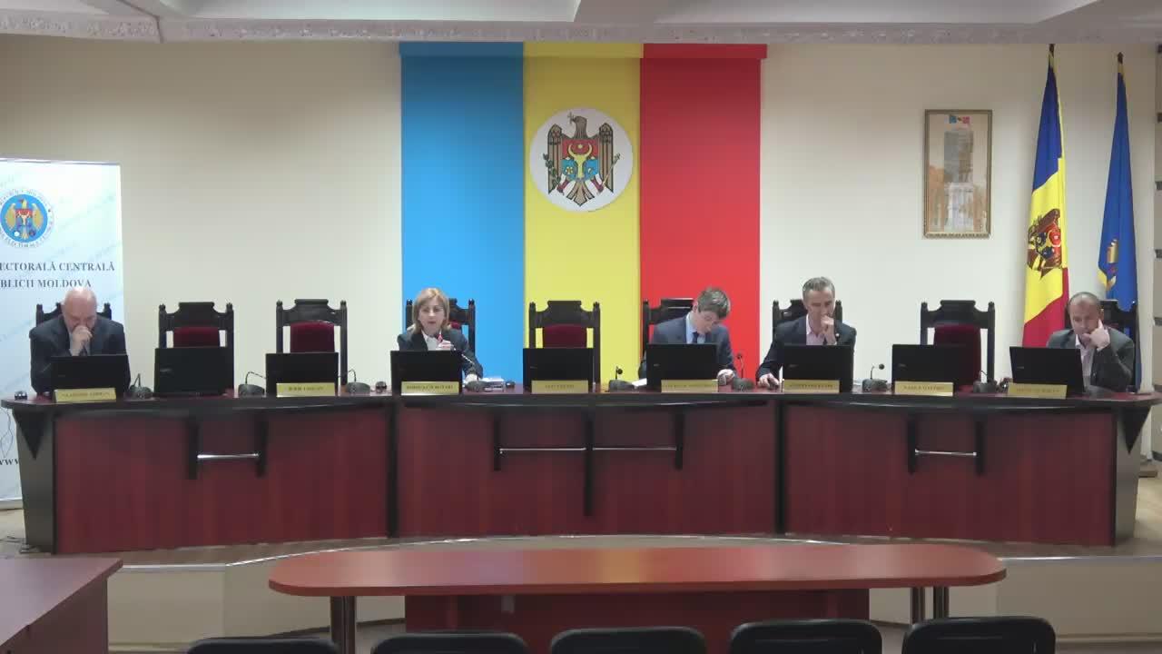 Ședința Comisiei Electorale Centrale din 28 februarie 2017