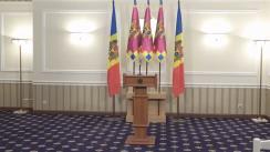 Briefing susținut de președintele Republicii Moldova, Igor Dodon, de prezentare a proiectului de lege privind modificarea Constituției