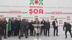 """Conferință de presă pe tema """"Dezvoltarea orașului Orhei în anul 2017 – prioritățile Fracțiunii """"Pentru Orhei"""" și ale Partidului ȘOR"""""""