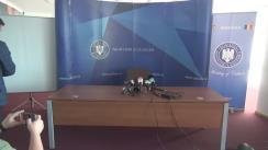 Conferința de presă susținută de ministrul Culturii și Identității Naționale, Ionuț Vulpescu