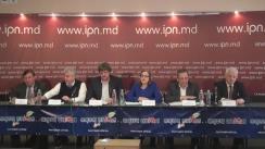 """Conferință de presă organizată de Uniunea Avocaților din Republica Moldova cu tema """"Sistemul inoculează frica în avocați!"""""""
