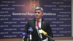 Declarațiile lui Alexandru Jizdan după ședința Guvernului Republicii Moldova din 1 martie 2017