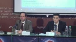 """Conferință de presă organizată de Echipa Economică Germană cu tema """"Exporturile Republicii Moldova și impactul Acordului de comerț liber cu UE (ZLSAC) asupra acestora"""""""