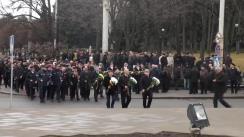 Marșul memoriei și mitingul de comemorare a eroilor căzuți în acțiunile de luptă pentru apărarea integrității și independenței Republicii Moldova