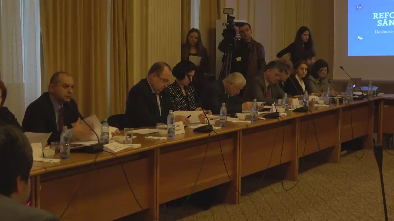 Dezbatere organizată de Comisia pentru sănătate din Camera Deputaților pe tema OUG 79, privind depolitizarea managementului din spitale