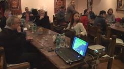 """Ședința Clubului de discuții """"STOP FALS!"""", cu genericul """"Calitatea jurnalismului în țările Parteneriatului Estic și Rusia"""""""