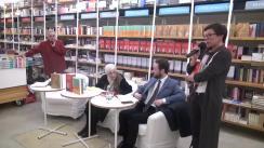 """Evenimentul """"Cărțile care ne-au făcut oameni"""" cu Dan C. Mihăilescu. Invitați: Francisca Băltăceanu și Bogdan Tătaru Cazaban"""