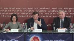 """Conferință de presă organizată de președintele PLDM, Viorel Cibotaru, președintele PPDA, Andrei Năstase, și președintele PAS, Maia Sandu, cu tema """"Tentativa guvernării de a se menține la putere prin schimbarea sistemului electoral"""""""
