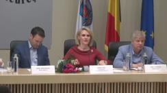 Comandamentul convocat de primarul General, Gabriela Firea, în vederea stabilirii planului de măsuri referitoare la acțiunile de salubritate, reparația străzilor și protecția mediului