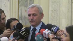 Declarații de presă după ședința Senatului și a Camerei Deputaților României din 8 martie 2017